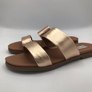 Steve Madden Rose Gold Sandals NEW